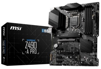 MSI Z490-A PRO ProSeries ATX Motherboard